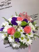 Цветы в коробке №020