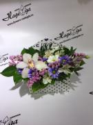 Цветы в коробке №011