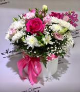 Цветы в коробке №010