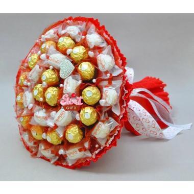 Букет из конфет №02