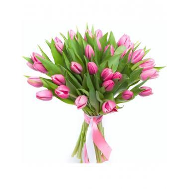 Букет из тюльпанов №01