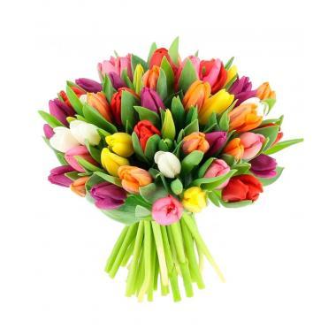 Букет из тюльпанов №02