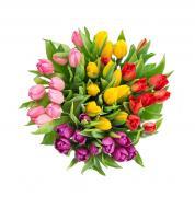Букет из тюльпанов №03