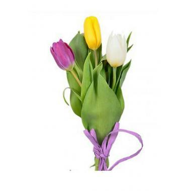 Букет из тюльпанов №04