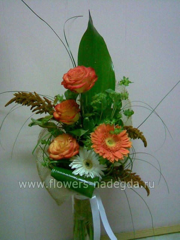 Доставка цветов, последний звонок букет учителю биологии